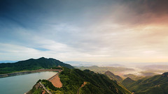 TianHuangPing (Lord Shen) Tags: china sunset mountain nature canon landscape photography asia nightscape anji zhejiang