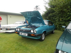 DSCN4289. AME 498T 1979 Ford Capri V6 Essex  3.0 lt Ghia (ronnie.cameron2009) Tags: cars ford car scotland aberdeenshire rally transport scottish alford grampian fordcapri carrally museumof vehiclerally