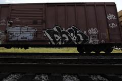 Ekos (Revise_D) Tags: railroad art graffiti revise graff tagging freight ekos revised trainart fr8 benching fr8heaven revisedesigns revisedeigns revisedesign fr8bench