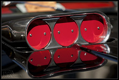 Intake reflection (K-Szok-Photography) Tags: detail canon socal canon5d canondslr carshow whittier kenszok kszokphotography uptownwhittiercarshow2012