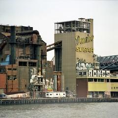domino sugar (branko_) Tags: new york city film rollei rolleiflex factory sugar professional medium format domino 6008