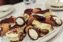 Tiramisu & Cannoli (sheryip) Tags: dessert yum tiramisu morgantown fairmont cannoli muriales