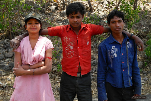 Local people - Mandu (MP)