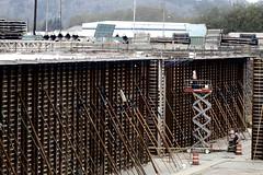 Pontoon formwork takes shape (WSDOT) Tags: th wsdot sr520 pontoons wastate bridge construction concrete workers floatingbridge kiewit sr520pontoons cycle4 aberdeen
