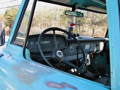 1968 DODGE 200 DASH (richie 59) Tags: auto autumn usa ny newyork america truck outside us automobile unitedstat