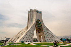 Shahyad (Azadi, Freedom) Tower (Unframed!) Tags: tower freedom iran tehran azadi shahyad