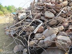 Canacona Tragedy Day 10 (joegoaukextra3) Tags: iron steel goa ruby rods residency joegoauk chauri chawdi