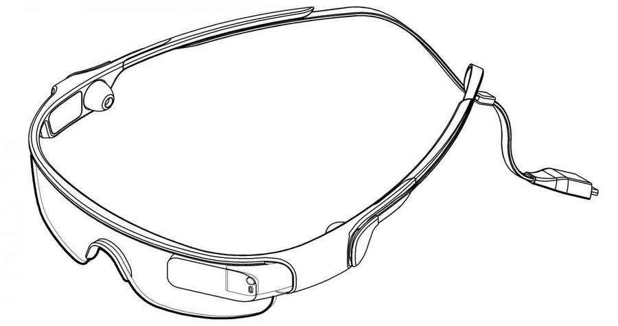 Патент на очки от Самсунга