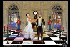 Ultimo magico ballo (ADRIANO ART FOR PASSION) Tags: photoshop fantasy castello ballo mezzanotte magia ringexcellence