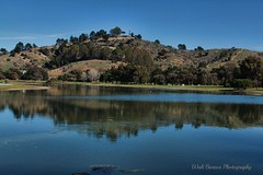 Lagoon (Walt Barnes) Tags: reflection nature water canon eos scenery lagoon richmond calif hdr topaz 60d millerknox canoneos60d topazadjust eos60d ebparksok wdbones99