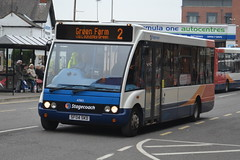 Stagecoach Optare Solo 47063.SF04SKD - Chesterfield (dwb transport photos) Tags: bus solo chesterfield stagecoach optare 47063 sf04skd