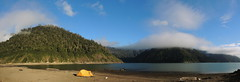 Panorama Lago Cabrera (Mono Andes) Tags: chile patagonia andes campamento hornopirén lagocabrera