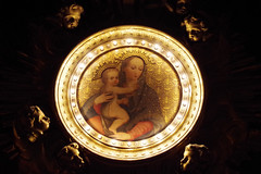 San Andrea della valle 3 (Le Mouche) Tags: rome roma marie maria mary kirche virgin chiesa glise rom churche jungfrau bambino vergine ges sanandreadellavalle jesuskind
