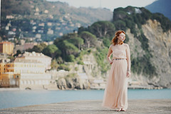 Seaside rendez-vous (L e t i) Tags: sea italy seaside 85mm lucia camogli vous rendez nikond700 lvphotography