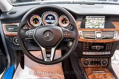 Mercedes CLS 350 CDI BE Coupè - Plata Iridio - Piel Negra Iridio - Piel Negra