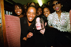 Michael Jackson RIP Fund Raising Event Focusing on Children with Aids at Exeter City St James Park Football Club Train Journey from Paddington Station London with Patti Boulaye with Gospel Choir and Uri Geller June 14 2002 069 (photographer695) Tags: michael jackson rip fund raising event focusing children with aids exeter city st james park football club train journey from paddington station london patti boulaye gospel choir uri geller june 14 2002