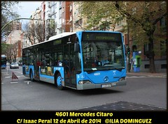 idnb531-EMT4601 (ribot85) Tags: madrid mercedes benz coach autobus emt moncloa autobuses citaro linea1 emtmadrid emt4601