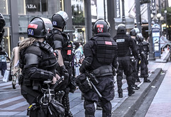 Officers (Eric_Do_) Tags: seattle police gear whatever mayday protection policia