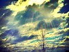 Sunburst Over Clouds (damaris.reda) Tags: uploaded:by=flickrmobile flickriosapp:filter=mammoth mammothfilter