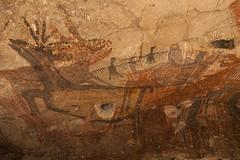 Cueva La Pintada - Rock Paintings of the Cochimi People, Canyon San Pablo - Sierra San Francisco, Baja California Sur, México (anschieber | niadahoam.de) Tags: mexico bajacalifornia 2014 unescoweltkulturerbe niederkalifornien 201402 canyonsanpablo rockpaintingsofsierradesanfrancisco cuevalapintada