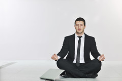 business man practice yoga at network server room (rulke) Tags: backup people man industry television yoga businessman digital work pose relax corporate one office hardware tv healthy sitting technology tech lotus laptop room internet cable center security system professional business company lan rack zen data service serene network meditation information database engineer hitech server connection isp datacenter firewall wellness routers bosniaandherzegovina stres
