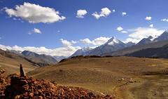 Majestic Himalayas (mala singh) Tags: autumn india snow mountains valley peaks himalayas himachalpradesh lahaul