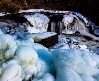 Winter Waterfall 6