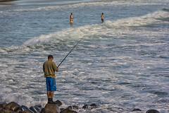 Fisherman (PLN54) Tags: fishing fisherman surf goldcoast burleighheads