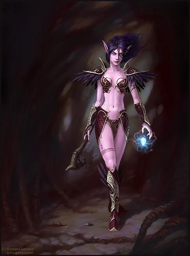Темная Эльфийка | Dark Elf