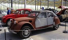 Citron 2CV Dagonet 1954 (XBXG) Tags: auto old france holland classic netherlands car mobile vintage french automobile nederland 1954 citron voiture 2cv frankrijk paysbas ancienne 2016 vijfhuizen franaise citromobile citro worldcars dagonet 3717kj33