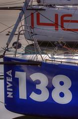 TransAt Yachts 30th April 2016 #2 (JDurston2009) Tags: blue sailing harbour yacht plymouth barbican devon 146 sailingboat 138 suttonharbour transat transatbakerly