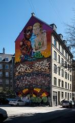Copenhagen street art (perambulatingphotographer) Tags: urban copenhagen streetphotography photojournalism social