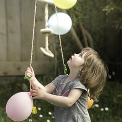 End of the party (Mathieu Lavenu) Tags: family famille party portrait childhood balloons child ballons enfant enfance