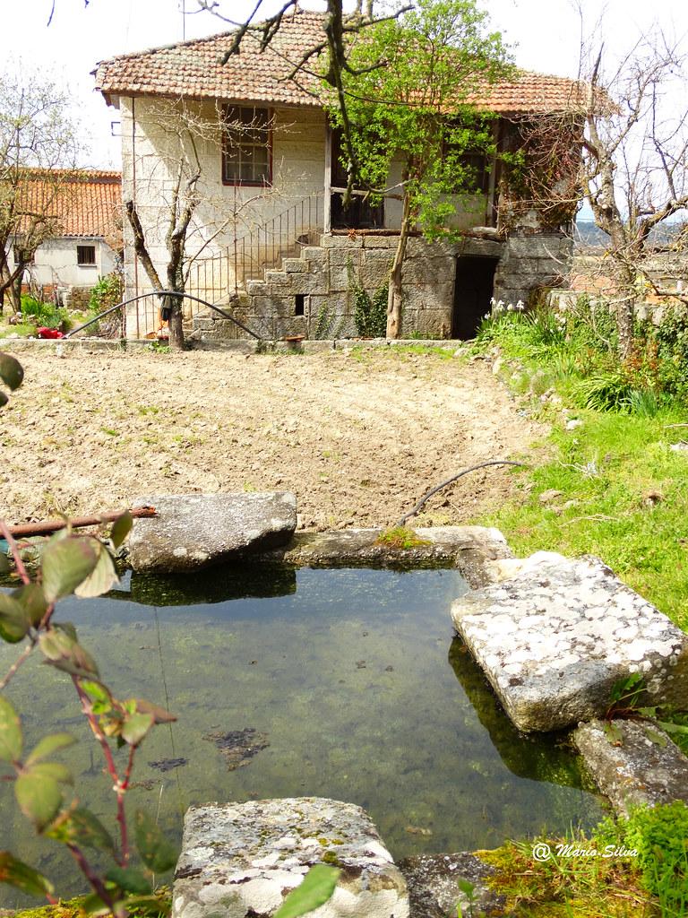Águas Frias (Chaves) - ... tanque ... onde muita rouppa se lavou ...
