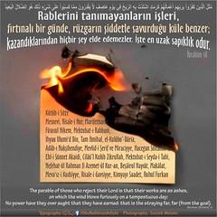 Kerim Kur'an - brahim 18 (Oku Rabbinin Adiyla) Tags: muslim islam rahman allah quran verse verses oku kuran hadis ayet tevhid ayetler okurabbini