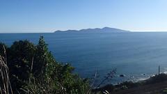 Paekakariki to Pukerua Bay New Zealand Escarpment walk (spiceontour) Tags: newzealand walkway tasmansea tramp kapitiisland escarpment porirua paekakariki 2016 pukeruabay