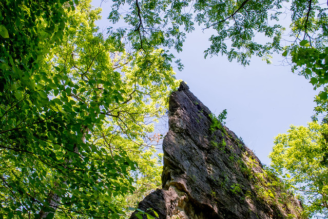 Clifty Falls State Park - Cake Rock - June 6, 2016