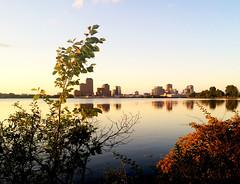 Ottawa/Gatineau 2015: The Gatineau Skyline (oliviarempel) Tags: sunset ontario canada skyline river quebec ottawa gatineau
