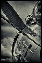 Douglas AD-4N Skyraider - 2 (mod) (NickJ 1972) Tags: les la aviation des airshow a1 douglas temps 2016 alais helices skyraider ferte ad4 124143 fazdp rm205