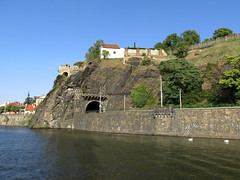 Prague (nina.pesut) Tags: travel blue sky inspiration green water river europe republic czech prague adventure explore enjoy vltava