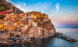 Warm Light on the Cinque Terre