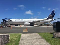 In transit, chuuk, Micronesia.