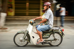 Road safety (spannerino) Tags: street people urban colour person nikon outdoor vietnam dslr panning d7100