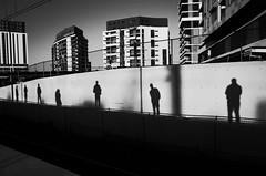 Waiting for the train (bigboysdad) Tags: street blackandwhite bw monochrome 28mm monotone gr ricoh