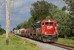 CP 6242 Claremont, MN (rathman11) Tags: emd emdsd60 cp canadianpacific 471 cp6242 wasecasubdivision