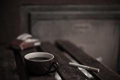kaffee und zigarette (Lucky Rubi) Tags: stilllife stillleben kaffee coffeeandcigarettes