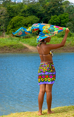 Panama-99 (lelou66) Tags: woman indian femme panama embera