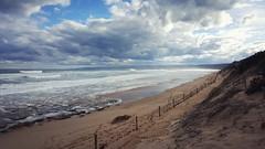 Anglesea back beach (Ross Major) Tags: ocean sea seascape beach clouds australia victoria greatoceanroad galaxys6