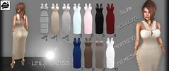 >Noir Neige< Leila Dress Gacha (Titania >Noir Neige<) Tags: noirneige nn leila dress gacha sl