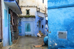 IMG_3695 (rachel_salay) Tags: city blue morocco chefchaouen